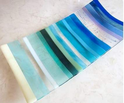 Fused Glass Platter