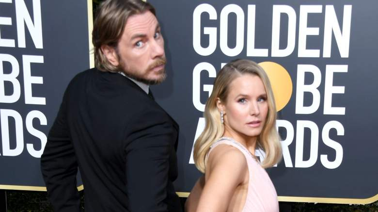 Dax Shepard and Kristen Bell attend the 76th Annual Golden Globe Awards at The Beverly Hilton Hotel on January 6, 2019