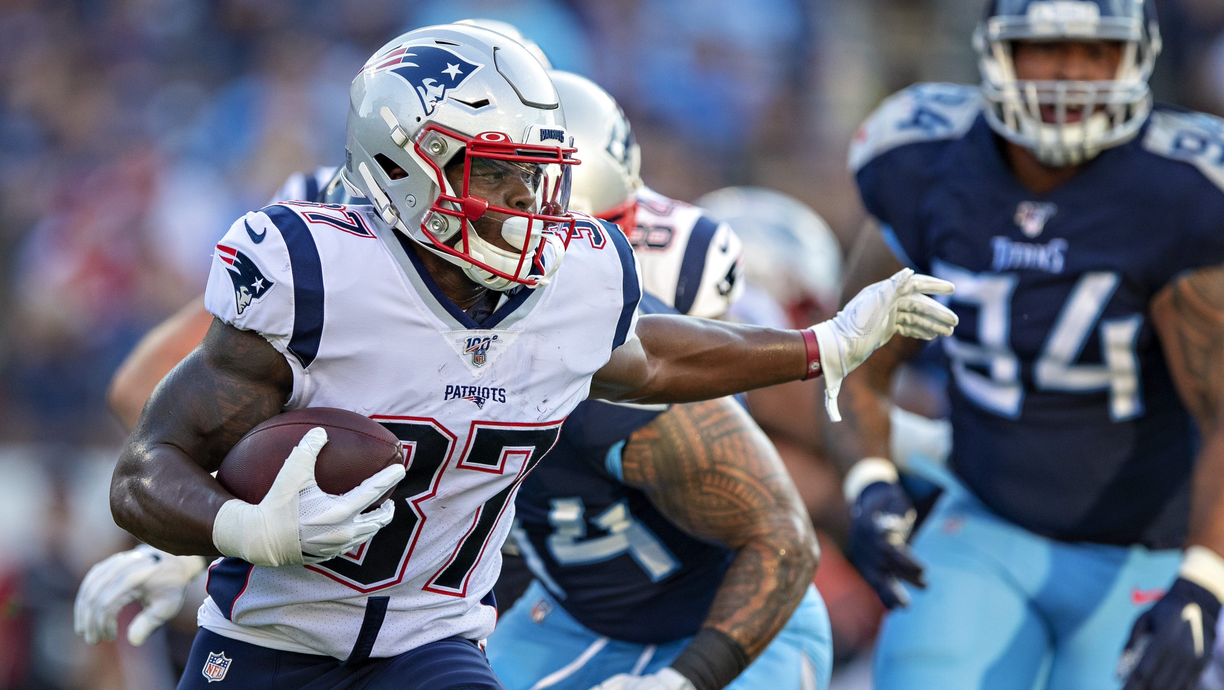 Patriots Damien Harris Primed To Replace Sony Michel Heavy Com