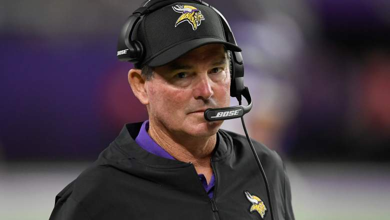 Mike Zimmer of Minnesota Vikings