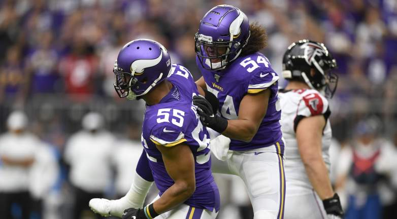 Eric Kendricks and Anthony Barr