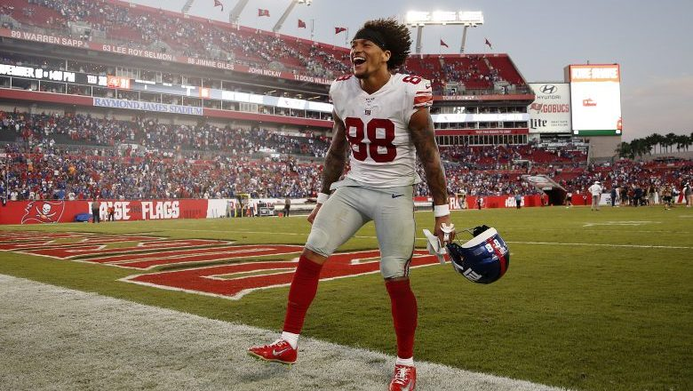 Are the Giants planning to move Evan Engram to WR?