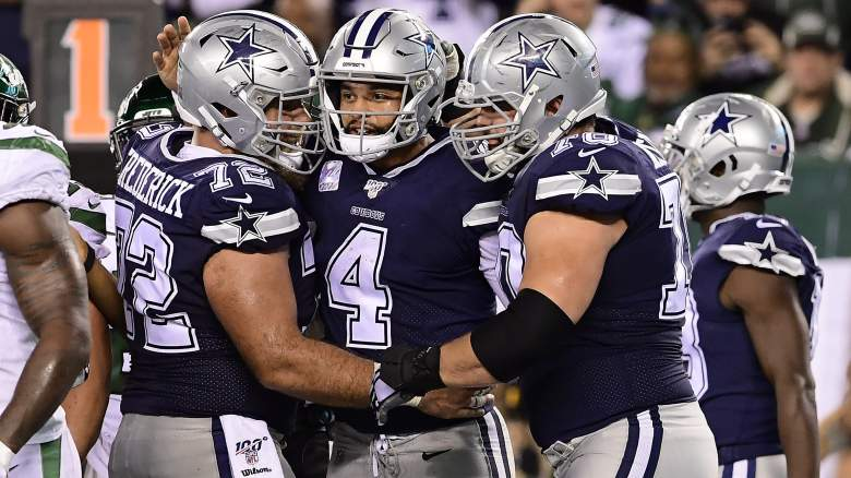 Travis Frederick with Cowboys