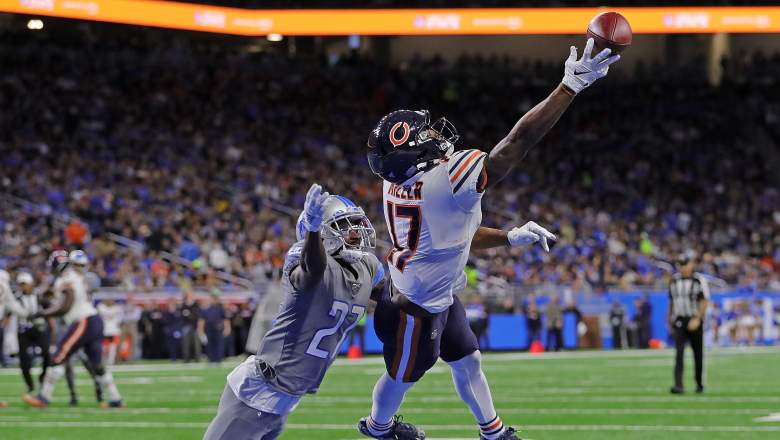 Chicago Bears WR Anthony Miller