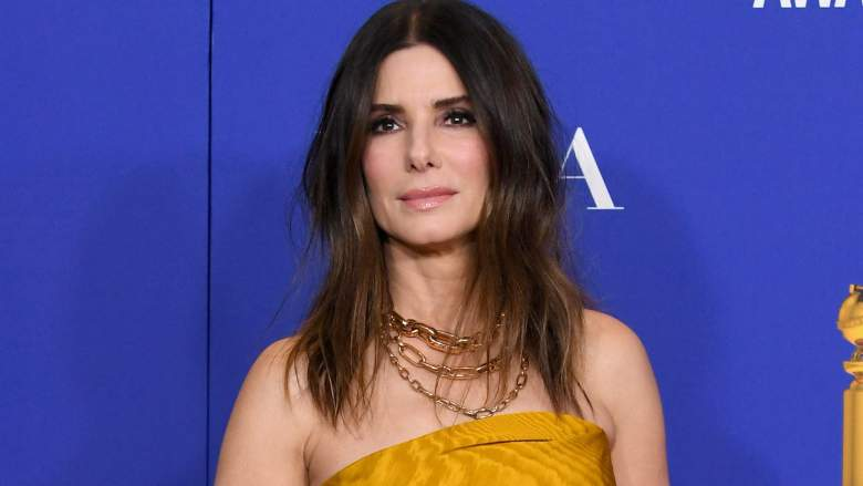 Sandra Bullock poses in the press room during the 77th Annual Golden Globe Awards at The Beverly Hilton Hotel on January 05, 2020 in Beverly Hills, California.
