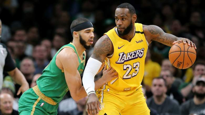 The Celtics and Lakers will be active at Disney World.