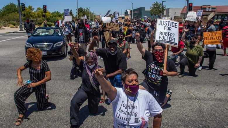 Fuller protest