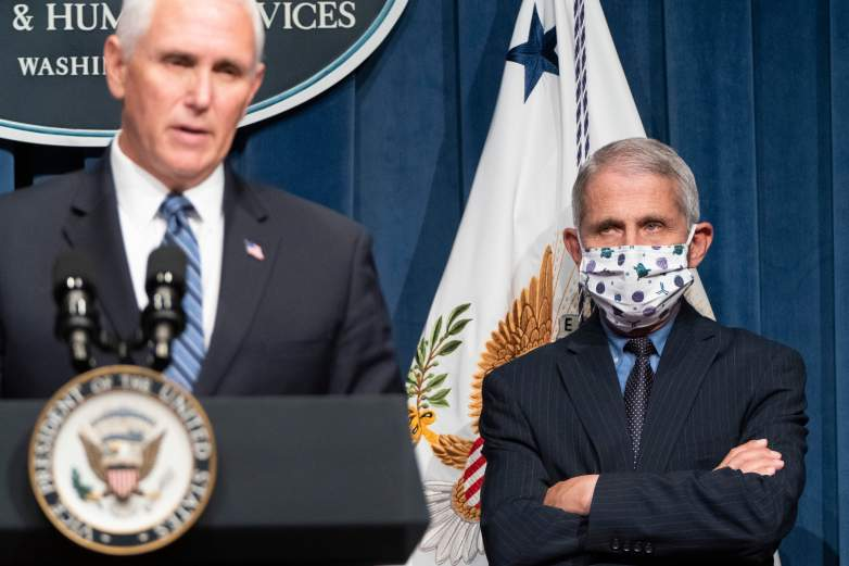 Dr. Fauci and VP Pence