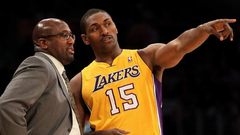 Ron Artest thinks he could be a good Knicks head coach