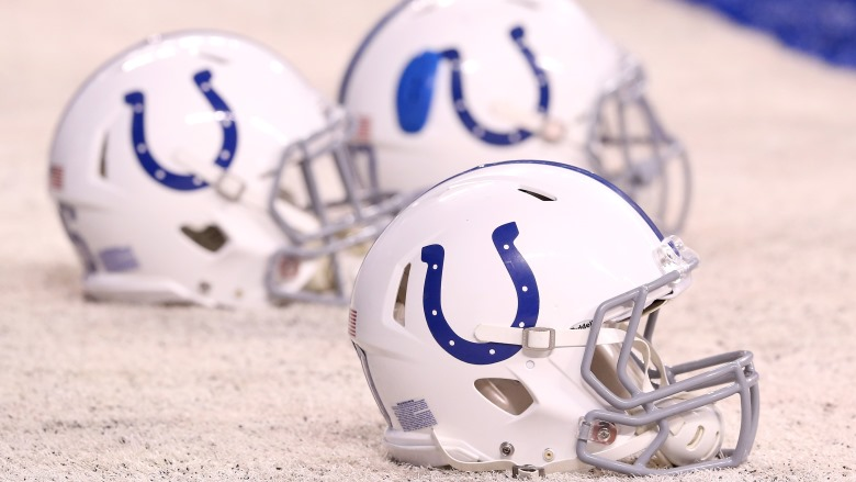 Colts-helmet