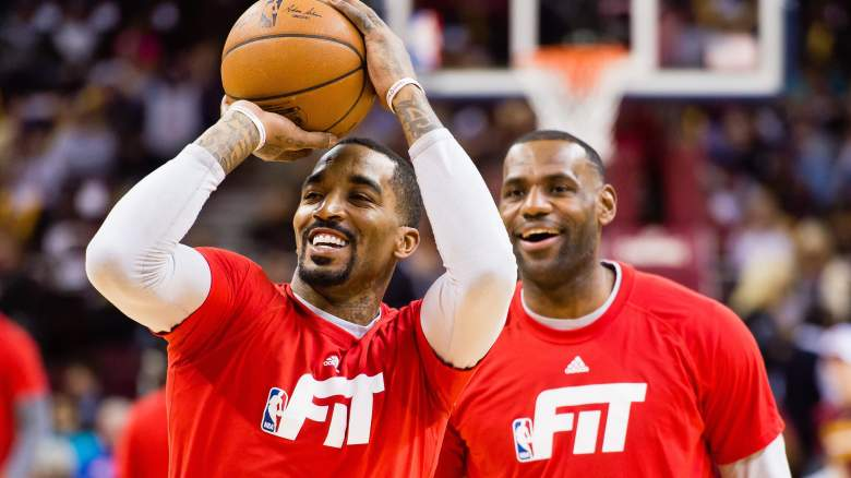 J.R. Smith and LeBron James, together again?
