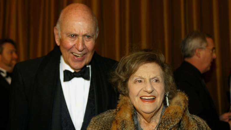Estelle Reiner and Carl Reiner