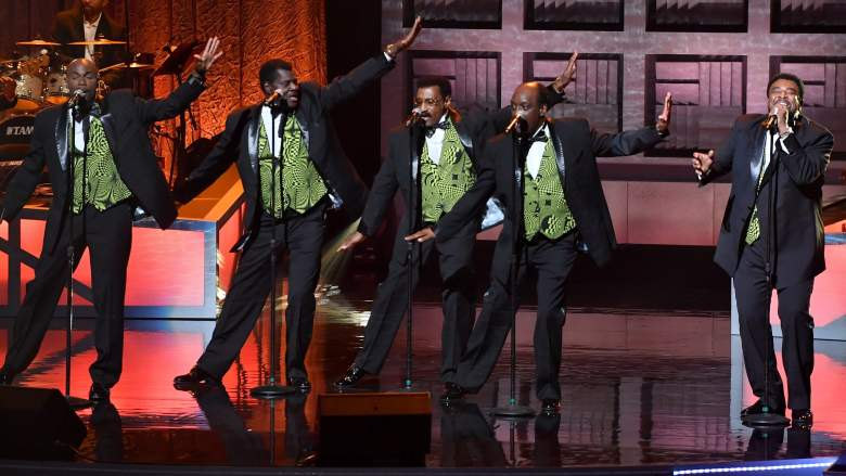The Temptations featuring Dennis Edwards perform during NMAAM 2016 Black Music Honors on August 18, 2016 in Nashville, Tennessee.