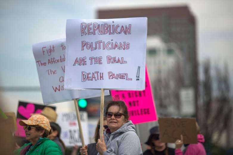 AMA protest