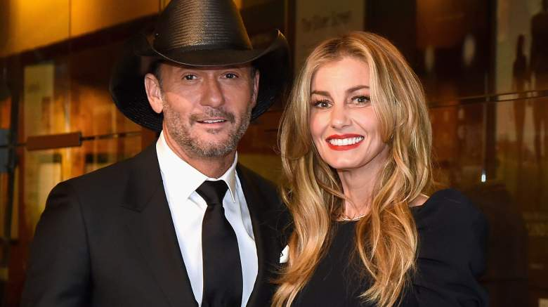 Tim McGraw and Faith Hill attend the Country Music Hall of Fame and Museum's debut of the Tim McGraw and Faith Hill Exhibition on November 15, 2017