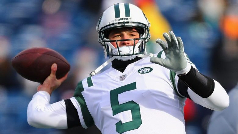 Christian Hackenberg attempting to become a baseball pitcher