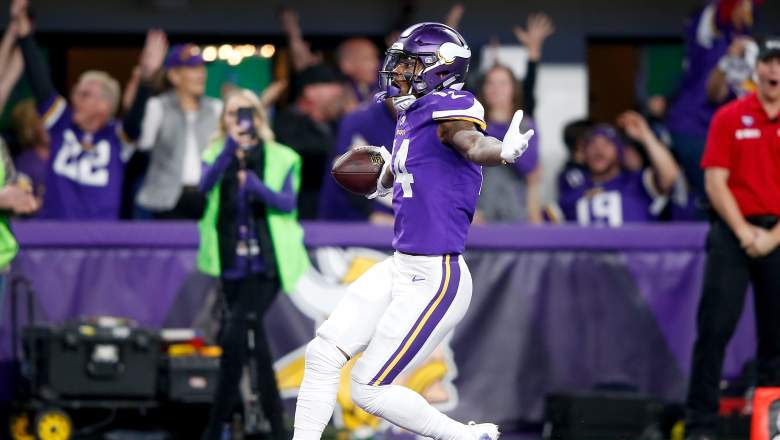 Stefon Diggs of Minnesota Vikings
