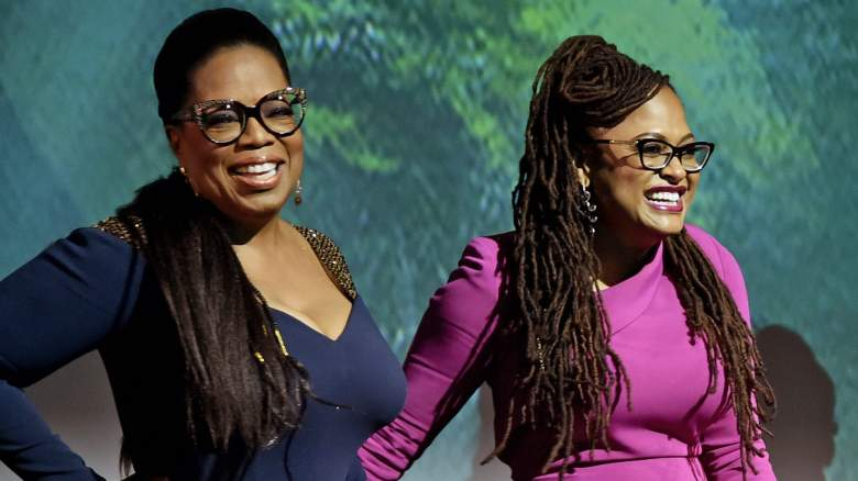 Oprah Winfrey and director Ava DuVernay onstage at the world premiere of Disney's 'A Wrinkle in Time' at the El Capitan Theatre in Hollywood CA, February 26, 2018.