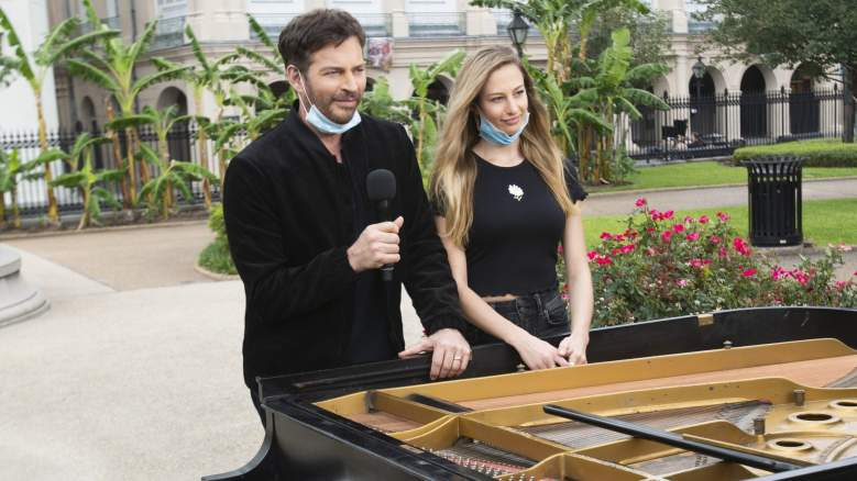 Harry Connick Jr. and daughter Georgia Connick