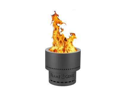 HY-C Flame Genie Portable Smoke-Free Wood Pellet Fire Pit