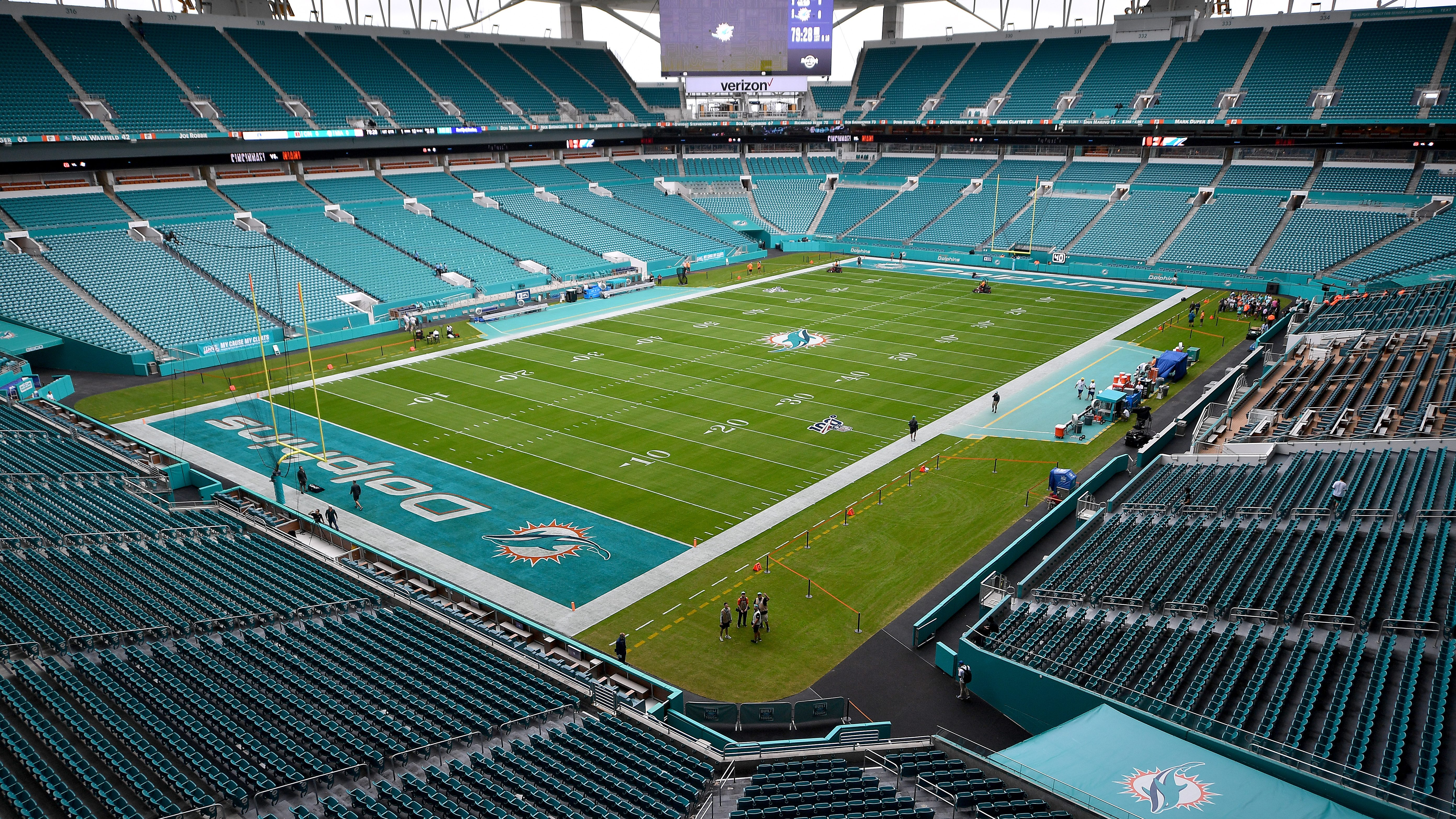 Too Soon Hard Rock Stadium To Re Open Team Store Heavy Com