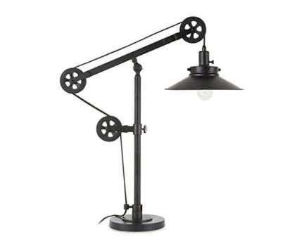 Henn&Hart Adjustable Pulley Table Lamp