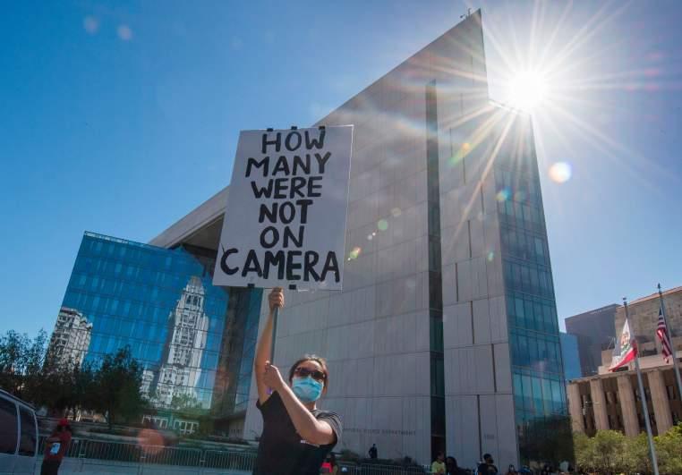LAPD protest