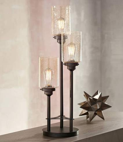 Libby 3-Light Industrial Lamp