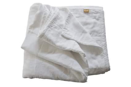 White linen blanket