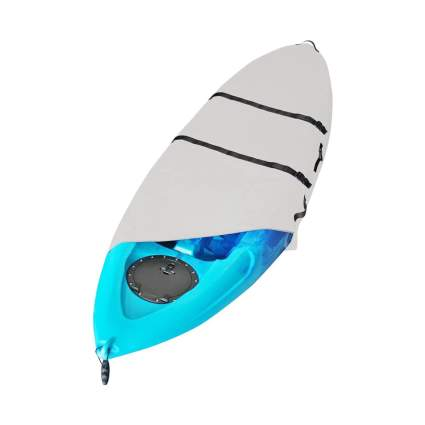 MSC Heavy Duty Two-Tone Adjustable Canoe & Kayak Cover
