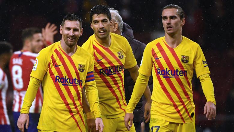 Messi, Suarez and Griezmann