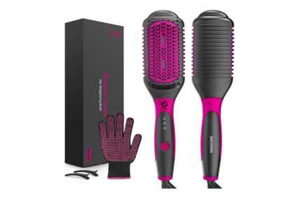 ionic hair straightening brush