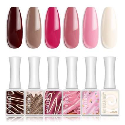 ice cream themed nail polish