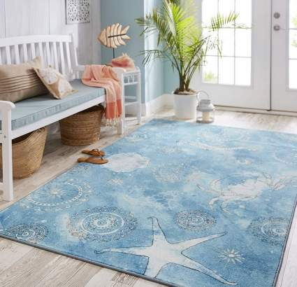 Mohawk Home Coastal Splash Area Rug