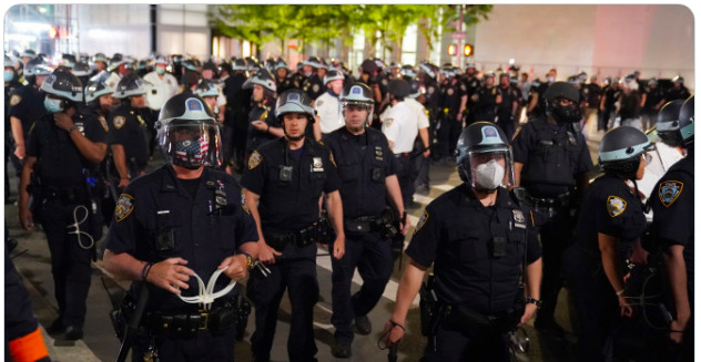 NYPD New York Protests