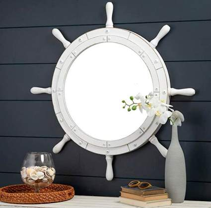 Nagina International Nautical Large Mirror
