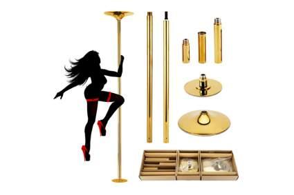 gold pole dancing pole