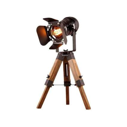 Retro Home Modern Industrial Tripod Table Lamp