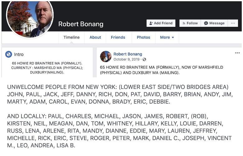 Robert Bonang facebook