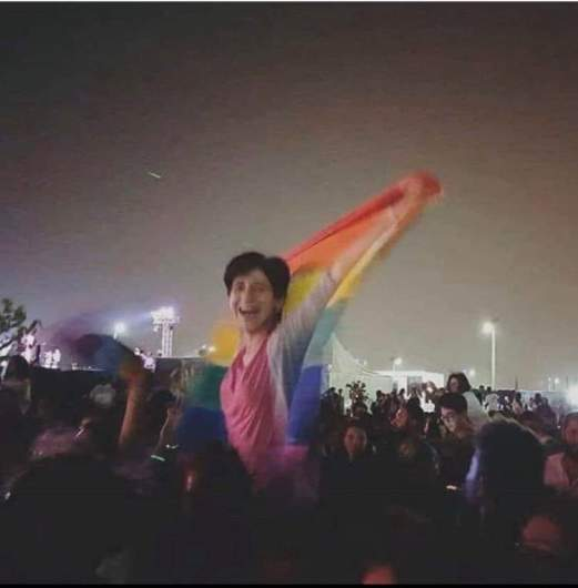 Sara Hegazy flag