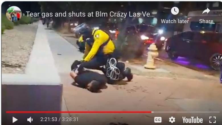 Man injured vegas