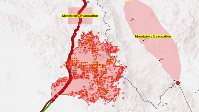Bush Fire Maps