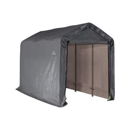 ShelterLogic Shed-in-a-Box All Season Steel Roof Outdoor Storage Shed
