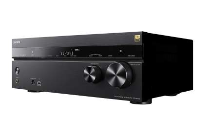 A Sony STR-DN1080 home theater receiver
