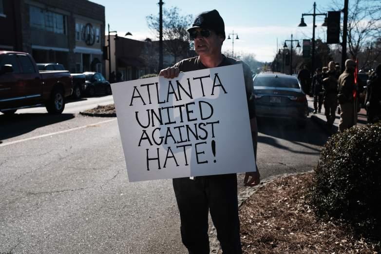 Stone Mountain protest