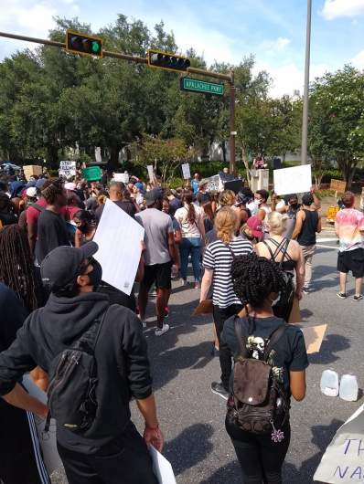 Tallahassee McDade protest