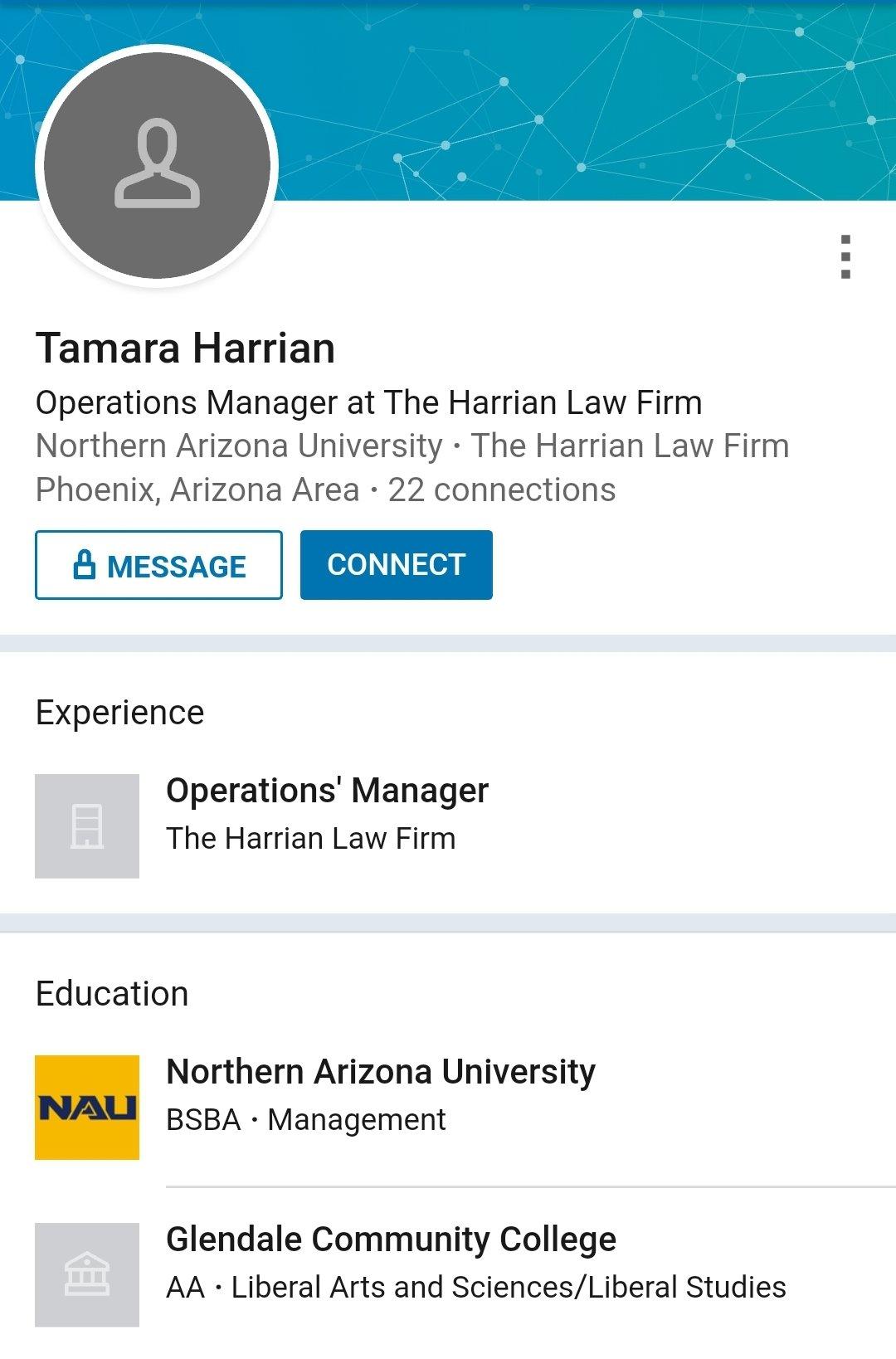 Tamara Harrian LinkedIn