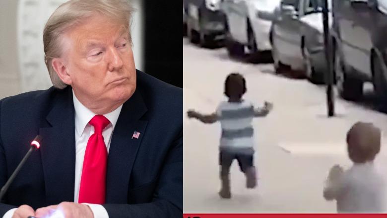 Trump racist baby video
