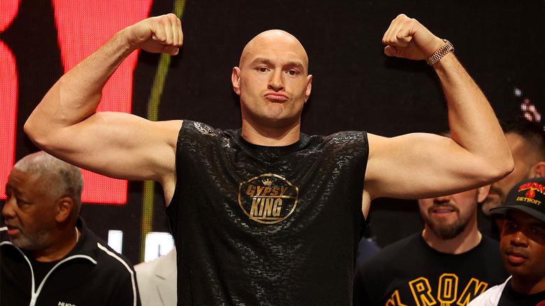 Heavyweight Boxing Champion Tyson Fury