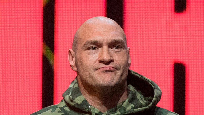 Heavy Boxing Champion Tyson Fury